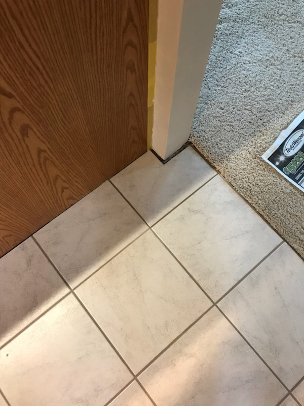 Tile Repair After